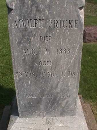 FRICKE, ADOLPH - Henry County, Iowa | ADOLPH FRICKE