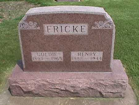 FRICKE, GOLDIE - Henry County, Iowa | GOLDIE FRICKE