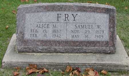 FRY, ALICE - Henry County, Iowa | ALICE FRY