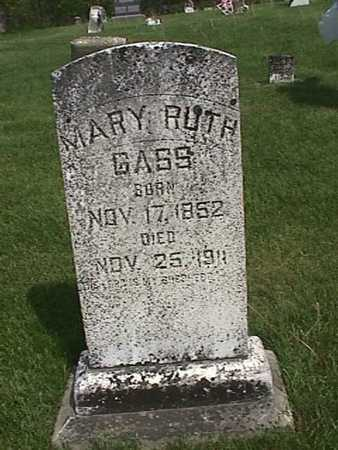 GASS, MARY RUTH - Henry County, Iowa | MARY RUTH GASS
