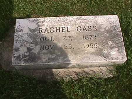 GASS, RACHEL - Henry County, Iowa | RACHEL GASS