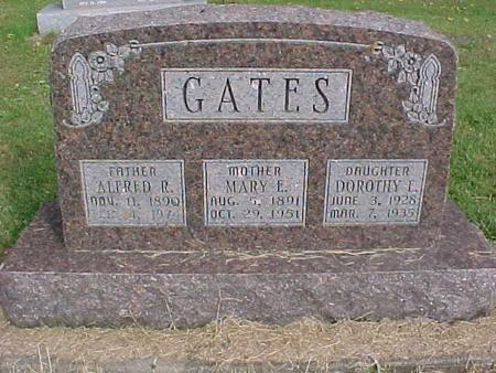GATES, MARY E - Henry County, Iowa | MARY E GATES