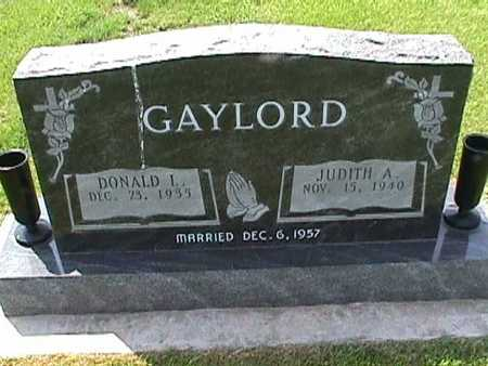 GAYLORD, DONALD - Henry County, Iowa | DONALD GAYLORD