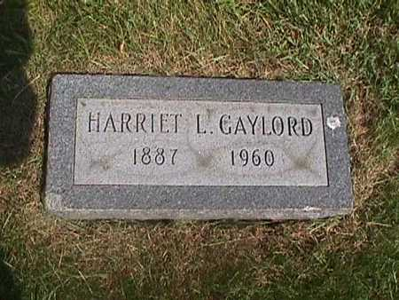 GAYLORD, HARRIET - Henry County, Iowa | HARRIET GAYLORD