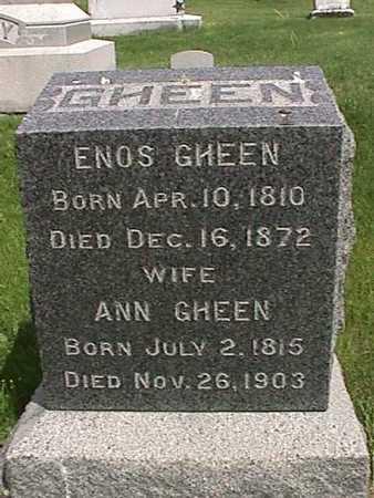 GHEEN, ANN - Henry County, Iowa | ANN GHEEN