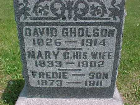 GHOLSON, DAVID - Henry County, Iowa | DAVID GHOLSON