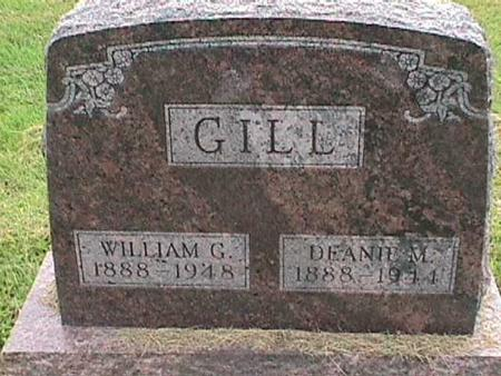 GILL, WILLIAM G - Henry County, Iowa | WILLIAM G GILL