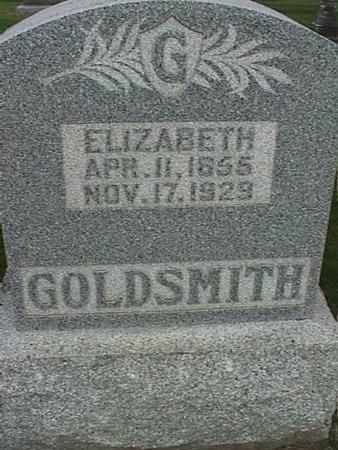 GOLDSMITH, ELIZABETH - Henry County, Iowa | ELIZABETH GOLDSMITH