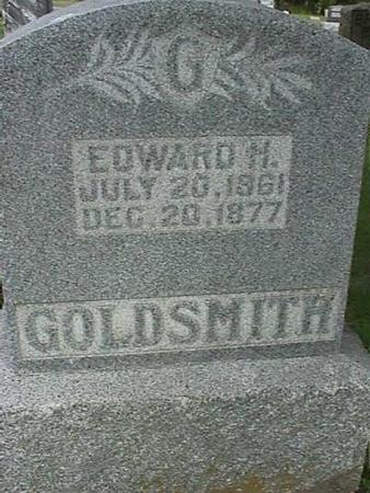 GOLDSMITH, EDWARD H - Henry County, Iowa | EDWARD H GOLDSMITH