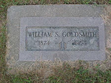 GOLDSMITH, WILLIAM S. - Henry County, Iowa | WILLIAM S. GOLDSMITH