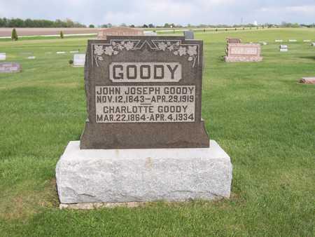 GOODY, JOHN JOSEPH - Henry County, Iowa | JOHN JOSEPH GOODY