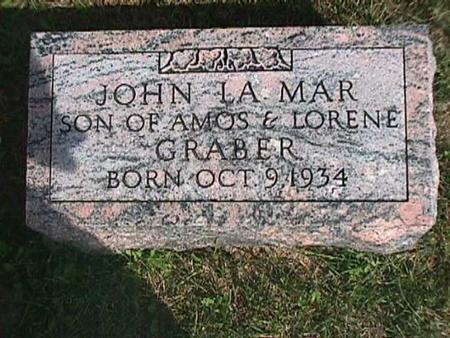 GRABER, JOHN LA MAR - Henry County, Iowa | JOHN LA MAR GRABER