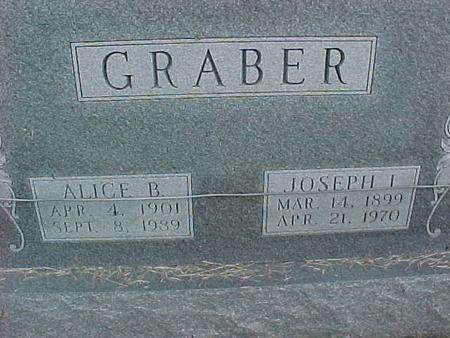 GRABER, JOSEPH I - Henry County, Iowa | JOSEPH I GRABER
