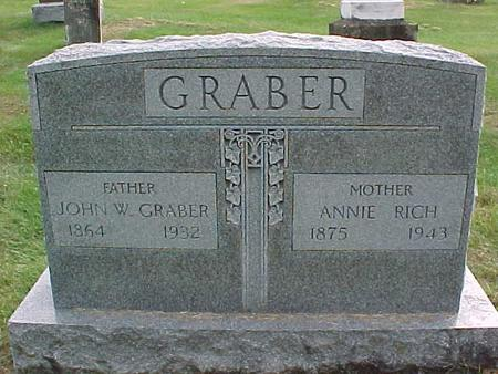 GRABER, JOHN W - Henry County, Iowa | JOHN W GRABER