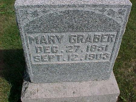 GRABER, MARY - Henry County, Iowa | MARY GRABER