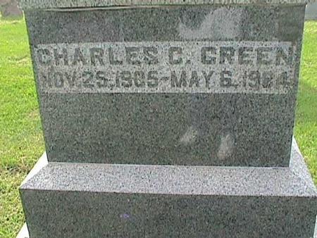 GREEN, CHARLES C. - Henry County, Iowa | CHARLES C. GREEN