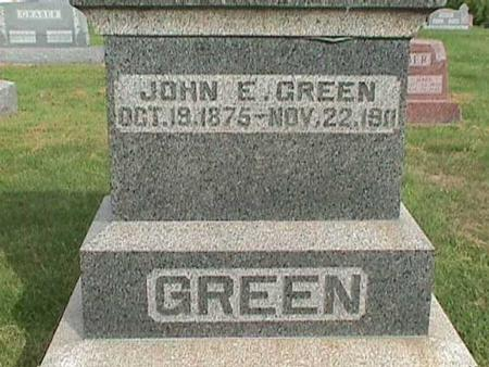 GREEN, JOHN E. - Henry County, Iowa | JOHN E. GREEN