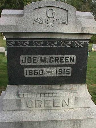 GREEN, JOE M. - Henry County, Iowa | JOE M. GREEN