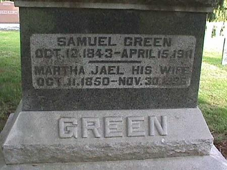 GREEN, SAMUEL - Henry County, Iowa | SAMUEL GREEN