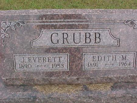 GRUBB, EDITH - Henry County, Iowa | EDITH GRUBB