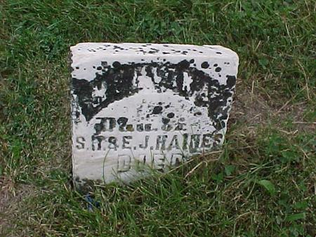 HAINES, CHILD - Henry County, Iowa | CHILD HAINES