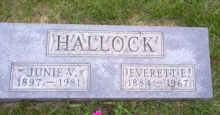 HALLOCK, EVERETTE - Henry County, Iowa | EVERETTE HALLOCK