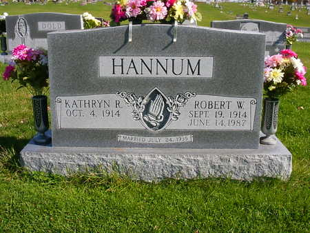 HANNUM, ROBERT  W. - Henry County, Iowa | ROBERT  W. HANNUM