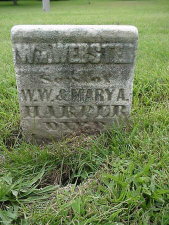 HARPER, WM. WEBSTER - Henry County, Iowa | WM. WEBSTER HARPER