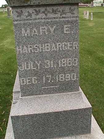 HARSHBARGER, MARY - Henry County, Iowa | MARY HARSHBARGER