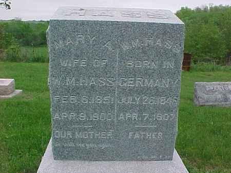 HASS, WILLIAM - Henry County, Iowa | WILLIAM HASS