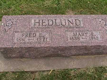 HEDLUND, MARY - Henry County, Iowa | MARY HEDLUND