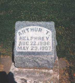 HELPHREY, ARTHUR THORNTON - Henry County, Iowa | ARTHUR THORNTON HELPHREY