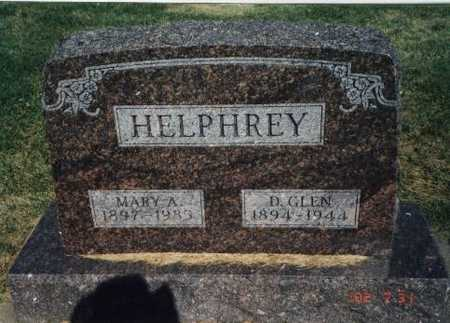 KREIGER HELPHREY, MARY ANNA - Henry County, Iowa | MARY ANNA KREIGER HELPHREY