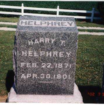 HELPHREY, HARRY T. - Henry County, Iowa | HARRY T. HELPHREY