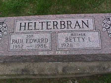 HELTERBRAN, PAUL EDWARD - Henry County, Iowa | PAUL EDWARD HELTERBRAN