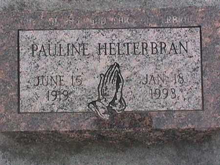 HELTERBRAN, PAULINE - Henry County, Iowa | PAULINE HELTERBRAN