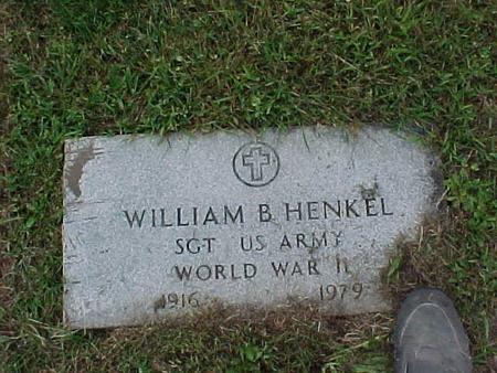 HENKEL, WILLIAM B. - Henry County, Iowa | WILLIAM B. HENKEL