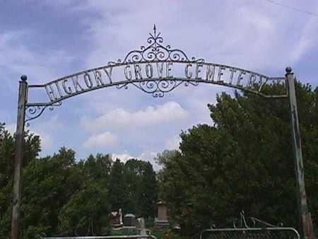 HICKORY GROVE, CEMETERY - Henry County, Iowa | CEMETERY HICKORY GROVE