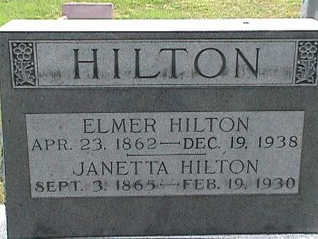 HILTON, ELMER - Henry County, Iowa | ELMER HILTON