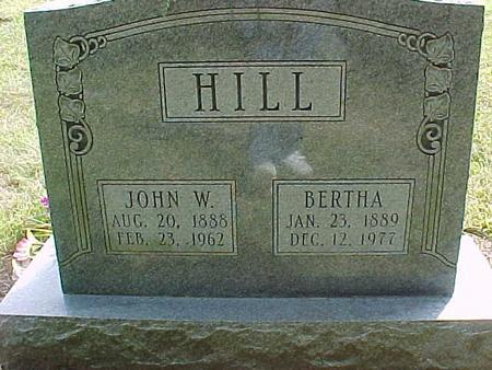 HILL, BERTHA - Henry County, Iowa | BERTHA HILL