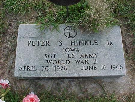 HINKLE, PETER S JR - Henry County, Iowa | PETER S JR HINKLE