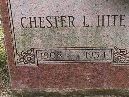 HITE, CHESTER L - Henry County, Iowa | CHESTER L HITE