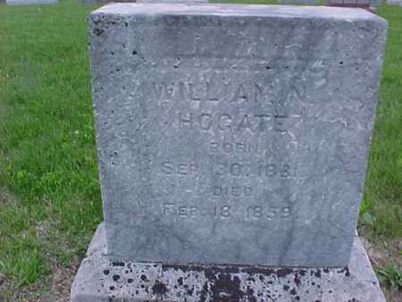 HOGATE, WILLIAM - Henry County, Iowa | WILLIAM HOGATE
