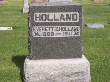 HOLLAND, EVERETT Z. - Henry County, Iowa | EVERETT Z. HOLLAND