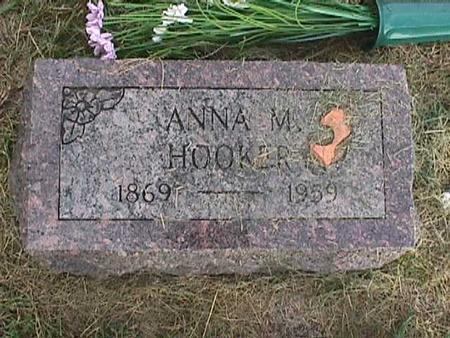 HOOKER, ANNA M. - Henry County, Iowa | ANNA M. HOOKER