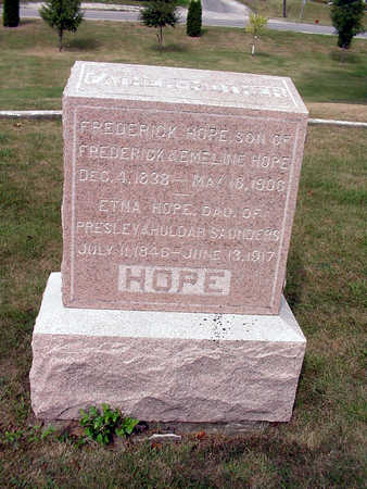 HOPE, FREDERICK - Henry County, Iowa | FREDERICK HOPE