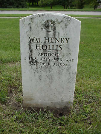 HOLLIS, WM. HENRY - Henry County, Iowa | WM. HENRY HOLLIS