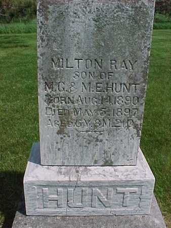HUNT, MILTON RAY - Henry County, Iowa | MILTON RAY HUNT