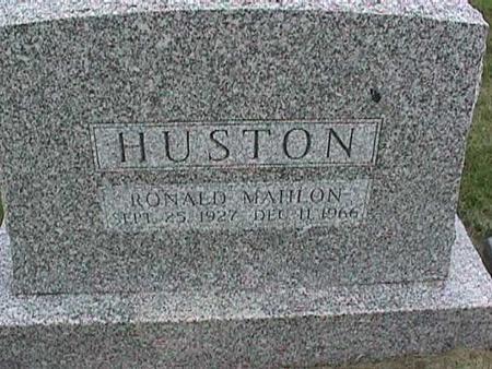 HUSTON, RONALD MAHLON - Henry County, Iowa | RONALD MAHLON HUSTON
