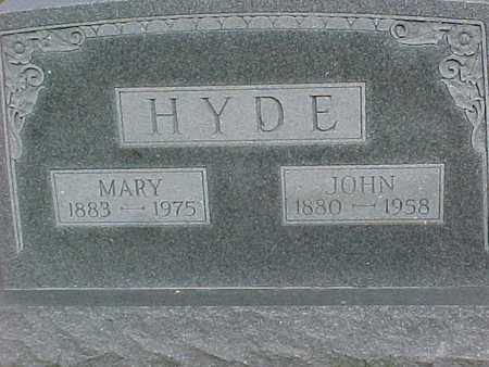 HYDE, MARY - Henry County, Iowa | MARY HYDE
